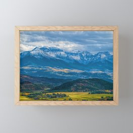 Outside of Ridgway Framed Mini Art Print