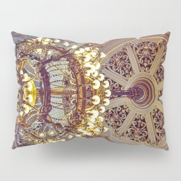 Victorian Painted Ceiling Pillow Sham