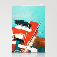 skyline Stationery Cards featuring Skyline by Rafael Galue