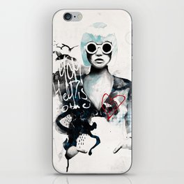 Hells People iPhone Skin