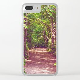 Lovers' Lane Clear iPhone Case