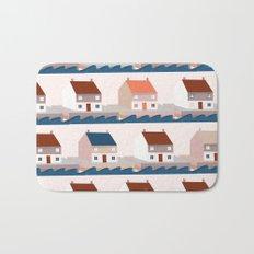 A house by the sea Bath Mat