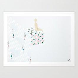 My Comfort Zone Art Print