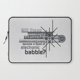 Babble Laptop Sleeve