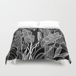 HOME IS WHERE MY PLANTS ARE Duvet Cover