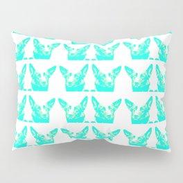 Mitzi blue and white, pattern Pillow Sham