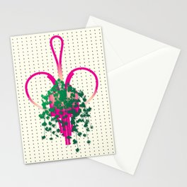 Heart Plant Stationery Cards