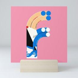 F Mini Art Print