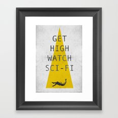 watch sci-fi Framed Art Print