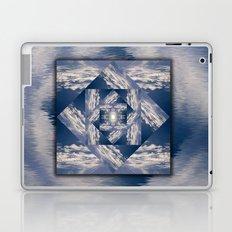 Meditational Clouds Mandala Laptop & iPad Skin