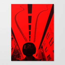 Inverted Ride Canvas Print