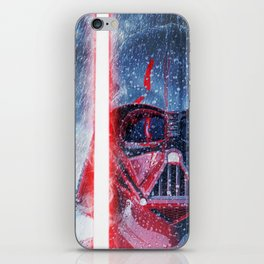 Darth Vader Storm iPhone Skin
