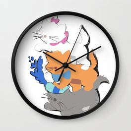 Aristocats Wall Clock