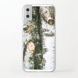 Nature among us Clear iPhone Case