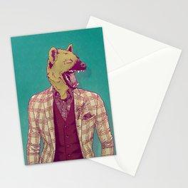 Elwood the Hyena Stationery Cards