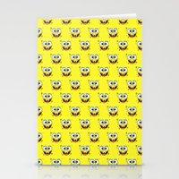 spongebob Stationery Cards featuring SPONGEBOB by September 9