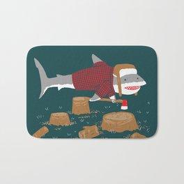 LumberJack Shark Bath Mat