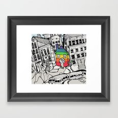 A Safe Place to Call Home Framed Art Print