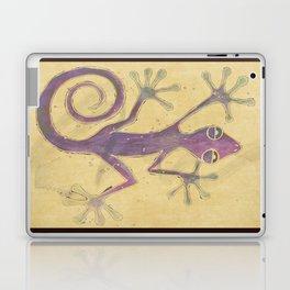 Purple Gecko of Love Laptop & iPad Skin