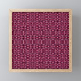 Ethnic Delicate Tiles Framed Mini Art Print