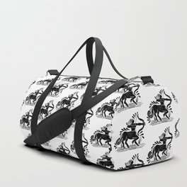 sagittarius zodiac Duffle Bag