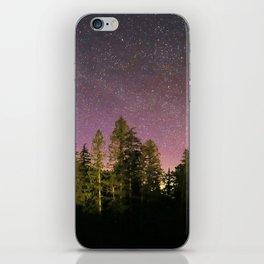 under the stars iPhone Skin