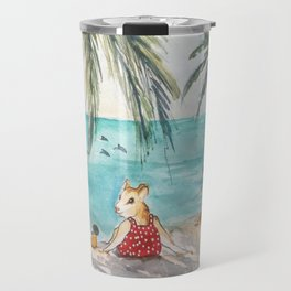 Ginger's Gone On Holiday Travel Mug