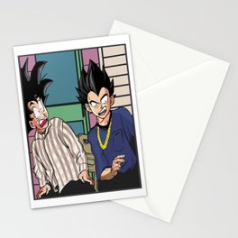Friday Night Comedy meets Dragon Ball Stationery Cards