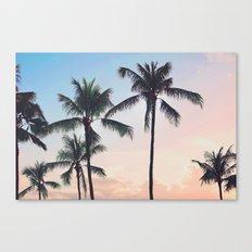 Paradise Cove Sunset Canvas Print