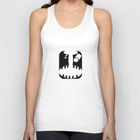 pain Tank Tops featuring Pain by jacomus
