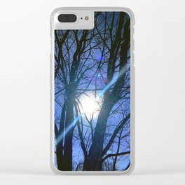 Winter Solstice Clear iPhone Case