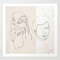 quibe Art Prints featuring Home by quibe