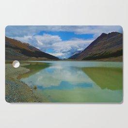 Sunwapta Lake at the Columbia Icefields in Jasper National Park, Canada Cutting Board