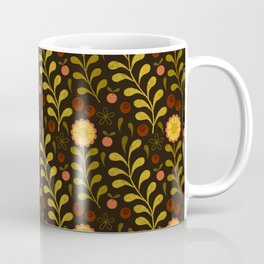 floral night Coffee Mug