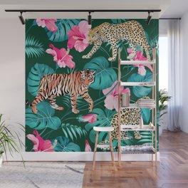 Big Cats Wall Mural