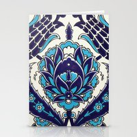 moroccan Stationery Cards featuring Moroccan by Faith Dunbar