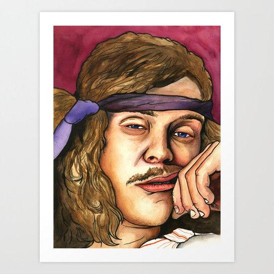 BLAKE HUNGOVER Art Print