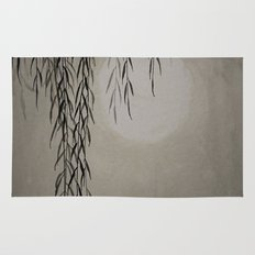 Willow in the moonlight Rug