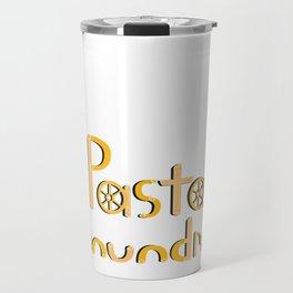 Pasta Conundrum Travel Mug