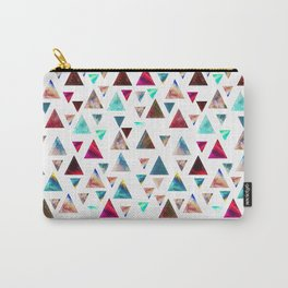 Multicolor Trianspace Carry-All Pouch