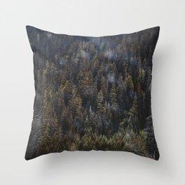 THE TREES I Throw Pillow