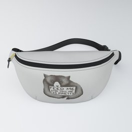 Feed Me And Tell Me I'm Pretty Bear Fanny Pack
