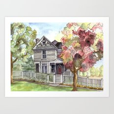 Springtime in the Country Art Print