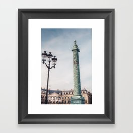 Paris in Fall Framed Art Print