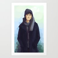jem Art Prints featuring Jem Carstairs by taratjah