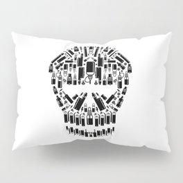 Skull Vape Accessoires   Vaper Vaping E-Cigarette  Pillow Sham