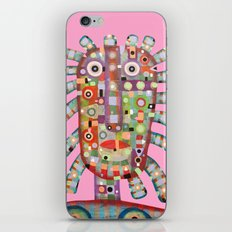 Girl with new hairstyle iPhone Skin