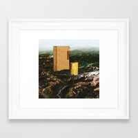 dallas Framed Art Prints featuring Dallas by Ruben Martinho