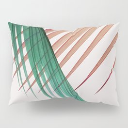 Palm Leaves, Tropical Plant Pillow Sham
