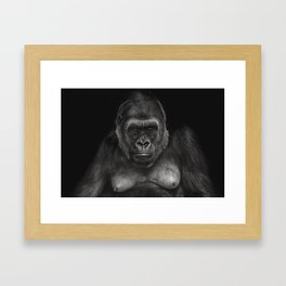 Don't Mess with Mama Framed Art Print